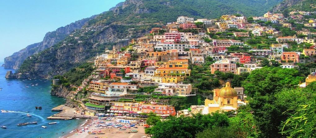 Die Reise nach Amalfi
